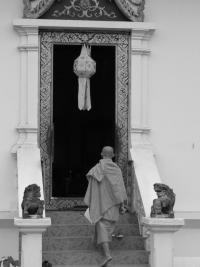 Entrée dans le temple