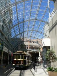 Le vieux tram toujours en circulation