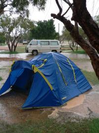 Tente overwater