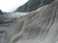 Action de l'erosion sur la roche