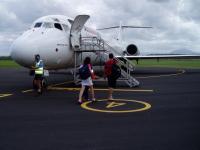 Vol jetstar à Proserpine - Whitsundays Island
