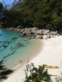 Kayak sur l\'Abel Tasman NP