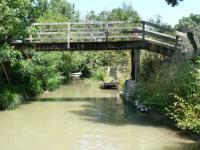 Pont au marais Poitevin