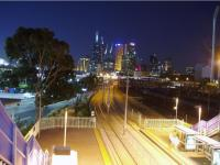 En prime Melbourne by night