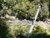Pont suspendu Abel Tasman NP