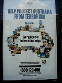 Help protect Australia from Terrorism